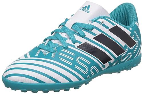 Adidas Nemeziz Messi 74 Tf J, Scarpe da Calcio Unisex-Bambini, Blu (
