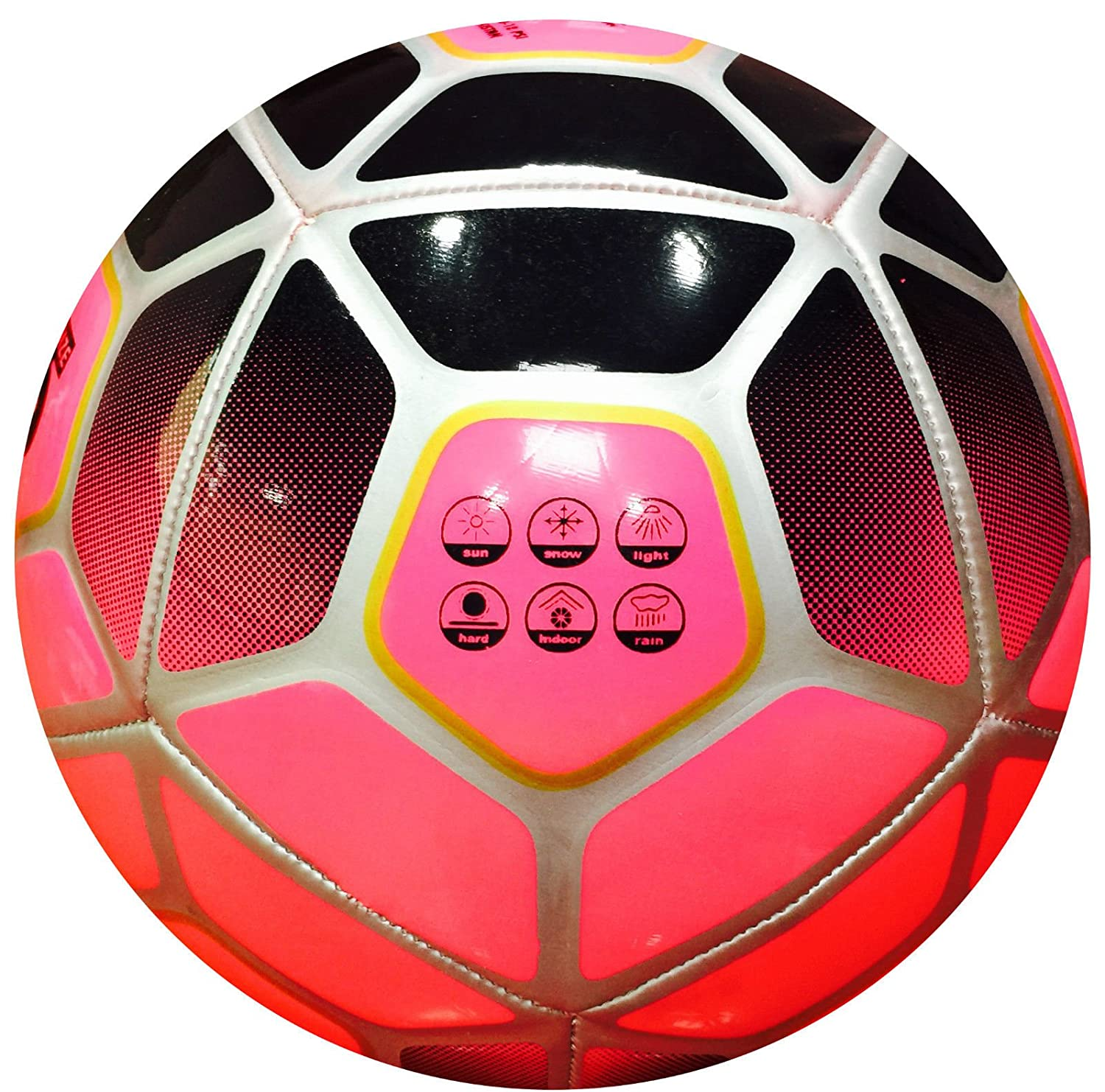 Spedster Premier League 2018-2019 - Balón de fútbol, color rosa, 5 ...