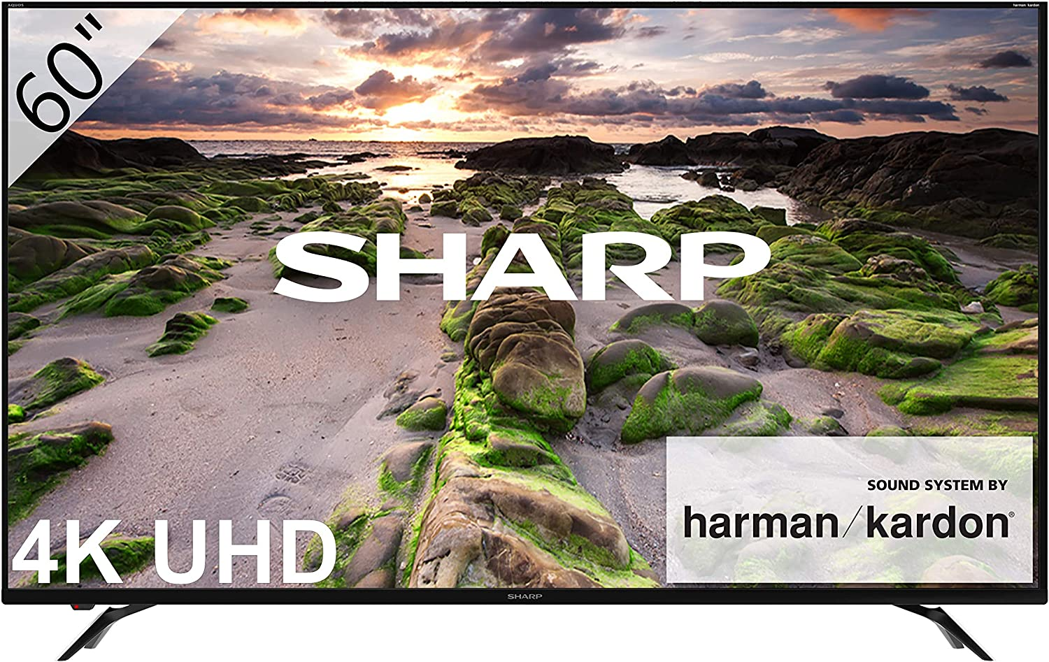 Sharp 4k Ultra Hd Smart E Led Tv Amazon Co Uk Electronics