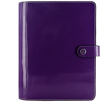 Filofax The Original Organiser Patent Purple A5 022441