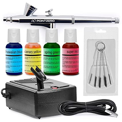Master Airbrush Complete Airbrush Cake Decorating Kit With G34