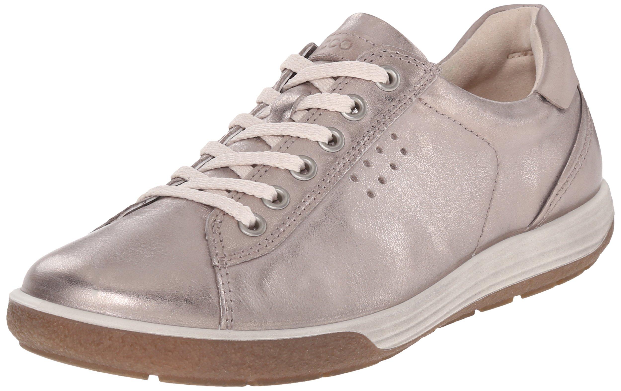 Ecco Footwear Womens Chase Tie Sneaker, Moon Rock, 42 EU/11-11.5 M US