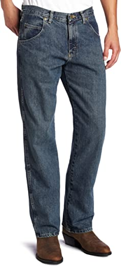 Wrangler Men's Big & Tall Rugged Wear Relaxed Straight-Fit Jean