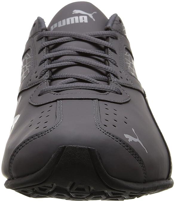 Puma Leader VT Buck Mens Gray Synthetic Athletic Running Shoes
