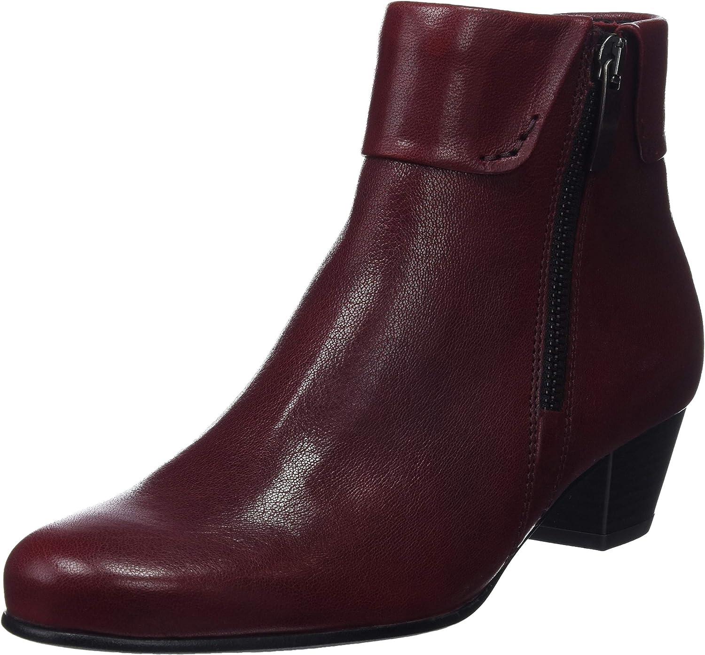 Gabor Royston Womens Cuff Zip Fastening Ankle Boots
