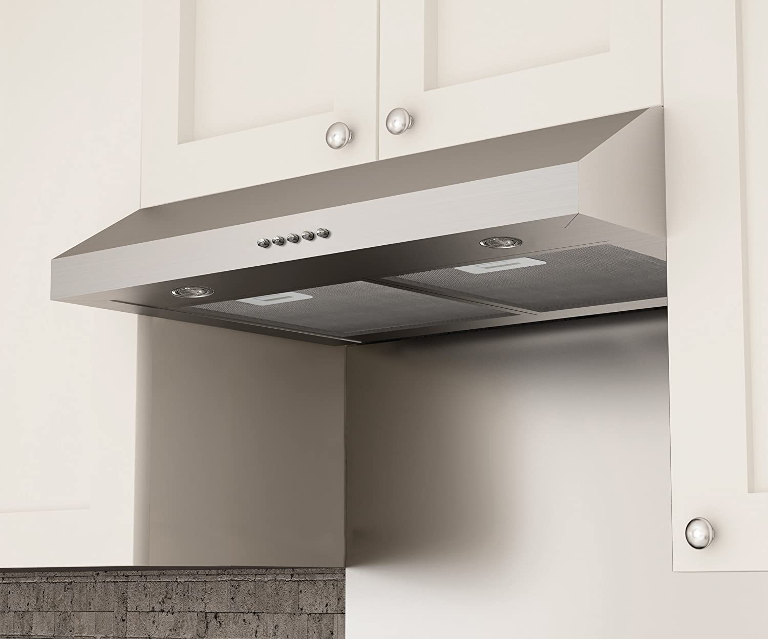 Amazon.com: Ancona Slim SD330 Under-Cabinet Range Hood, 30-Inch ...
