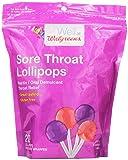 Walgreens Sore Throat Lollipops, Grape