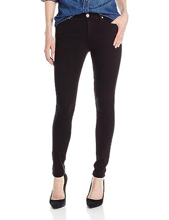 Amazon.com: True Religion Women's Halle Midrise Skinny Jean in Jet Black:  Clothing