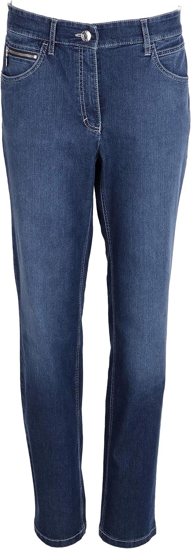 Zerres Damen Jeans Tina Blau
