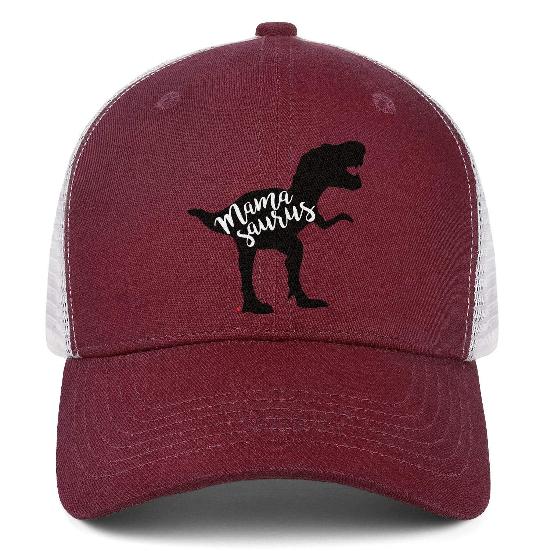 AkrCreative Dinosaur Mamasaurus Dinosaur Men//Women Fashion Trucker Cap Sports Hat
