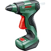 Bosch Cordless Hot Glue Gun PKP 3.6 LI (Integrated Battery, 3.6 Volt, 4 x Glue Sticks Included, in Box)