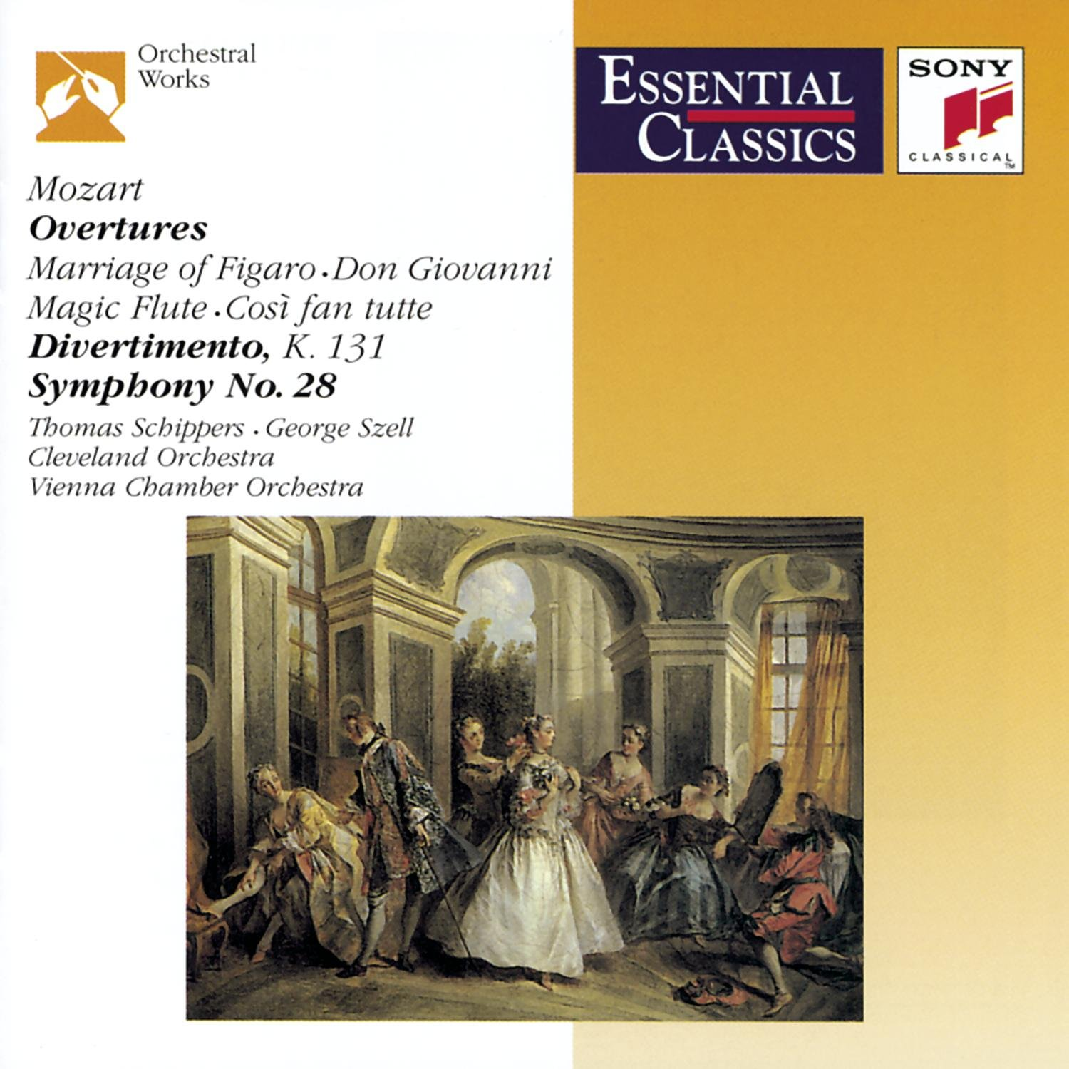 Mozart: Overtures (Essential Classics) by Sony Classical