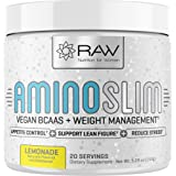 AMINO SLIM - Slimming BCAA Weight Loss Drink For Women, Vegan Amino Acids & L-Glutamine Powder for Post Workout Recovery…