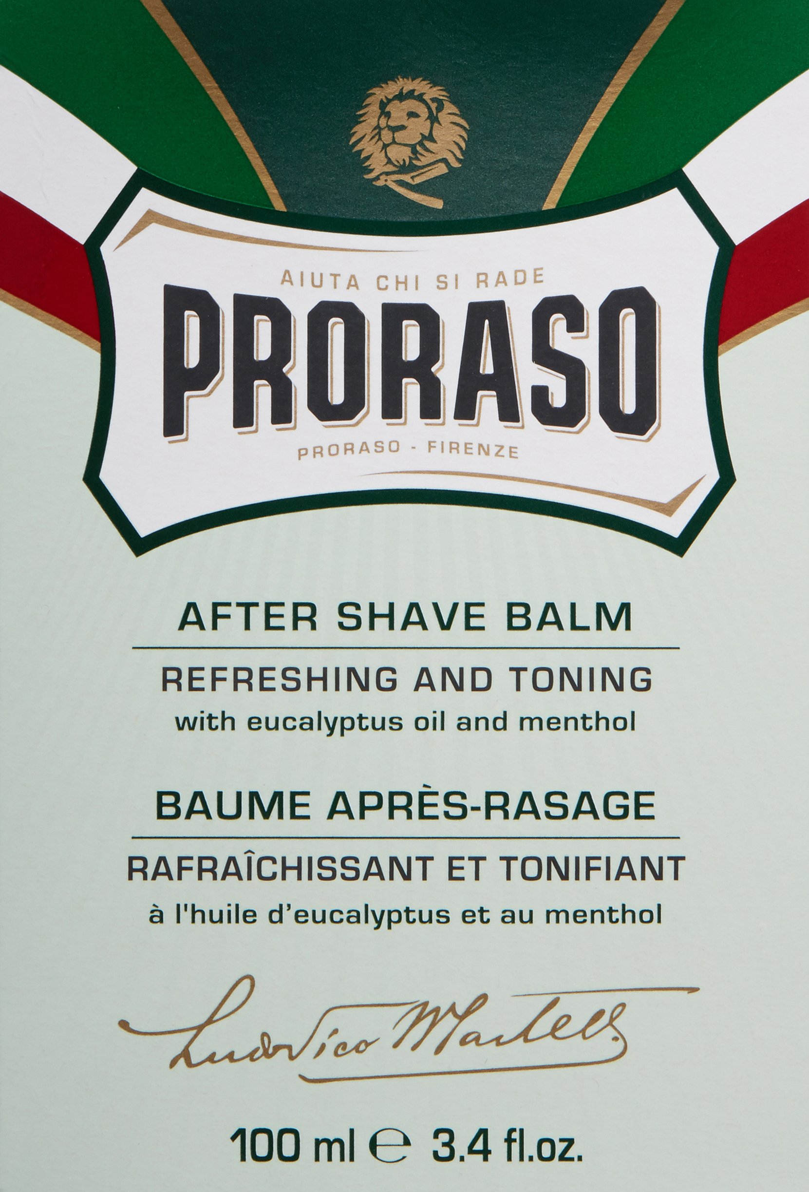 Proraso After Shave Balm, Refreshing and Toning, 3.4 fl oz by Proraso (Image #3)