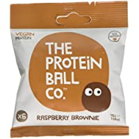 Protein Ball Co Raspberry Brownie 45g (Pack of 10)