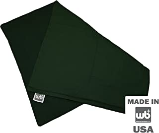 """product image for Weighted Blankets Plus LLC Medium Weighted Lap Pad 5lb - 14"""" x 19"""" (Forest)"""