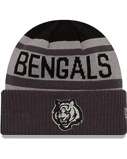 24631726bee New Era NFL Unisex NFL Black   Gray Biggest Fan 2.0 Cuff Knit Beanie