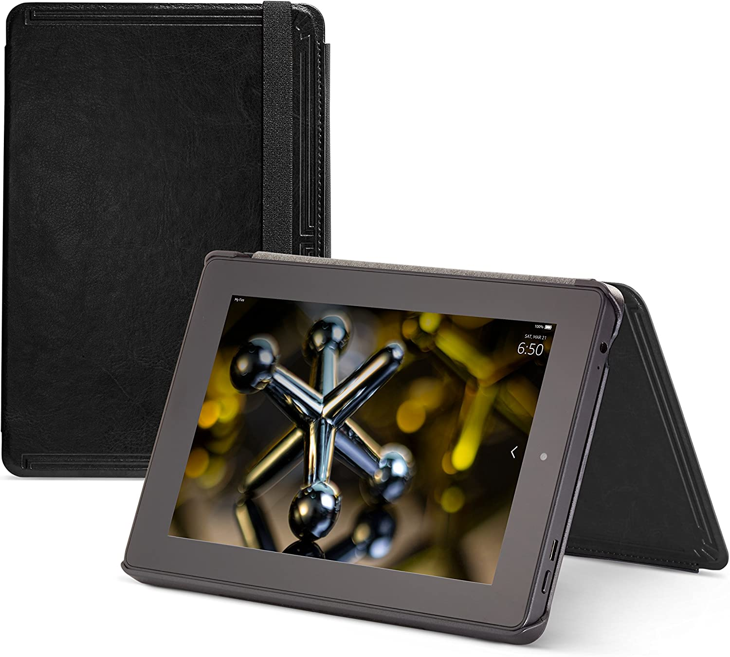 Amazon Com Marblue Case For Fire Hd 7 Only Fits 4th Generation Fire Hd 7 Black Kindle Store