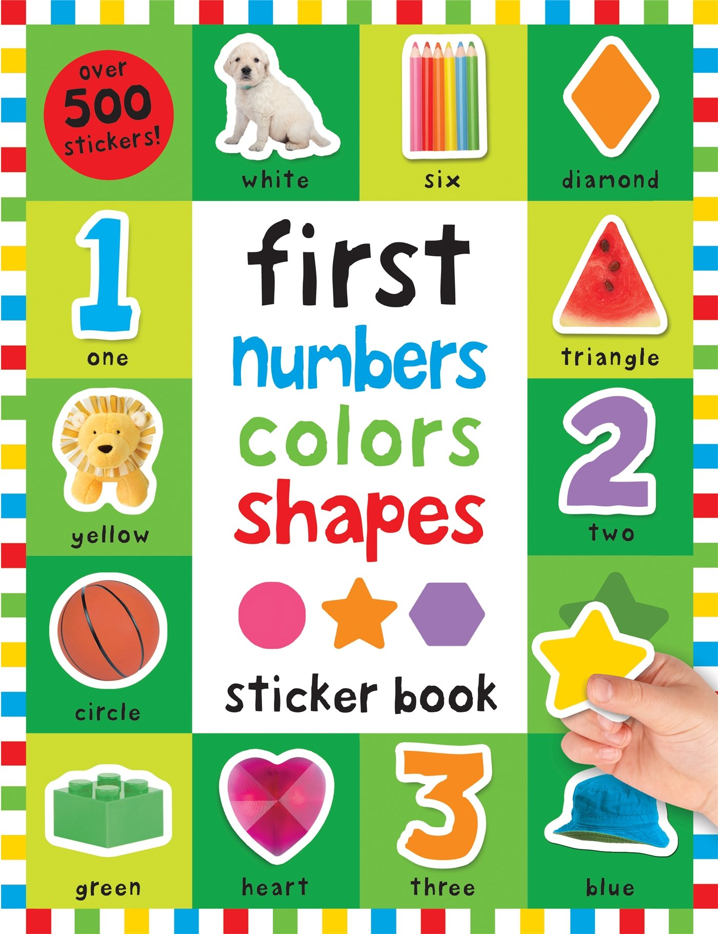 First 100 Stickers Numbers Colors