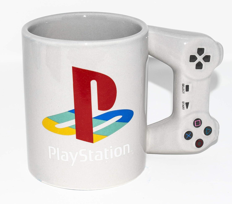 The Mug Coffee >> Paladone Playstation Officially Licensed Merchandise Controller Mug Coffee Mug 10oz