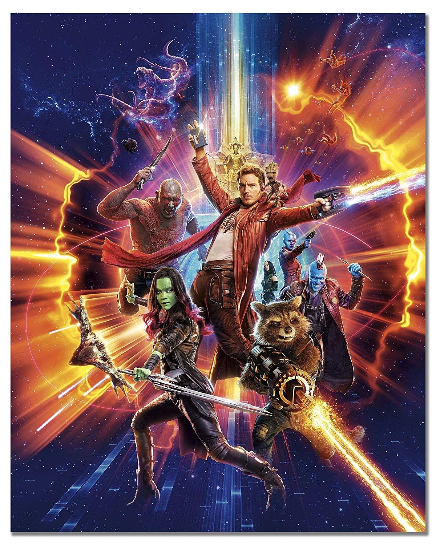 Gen G Art Arte della Parete Poster Foto, 1 Poster in JPG Belle Illustration Guardians of The Galaxy 2018 Nuovo #5