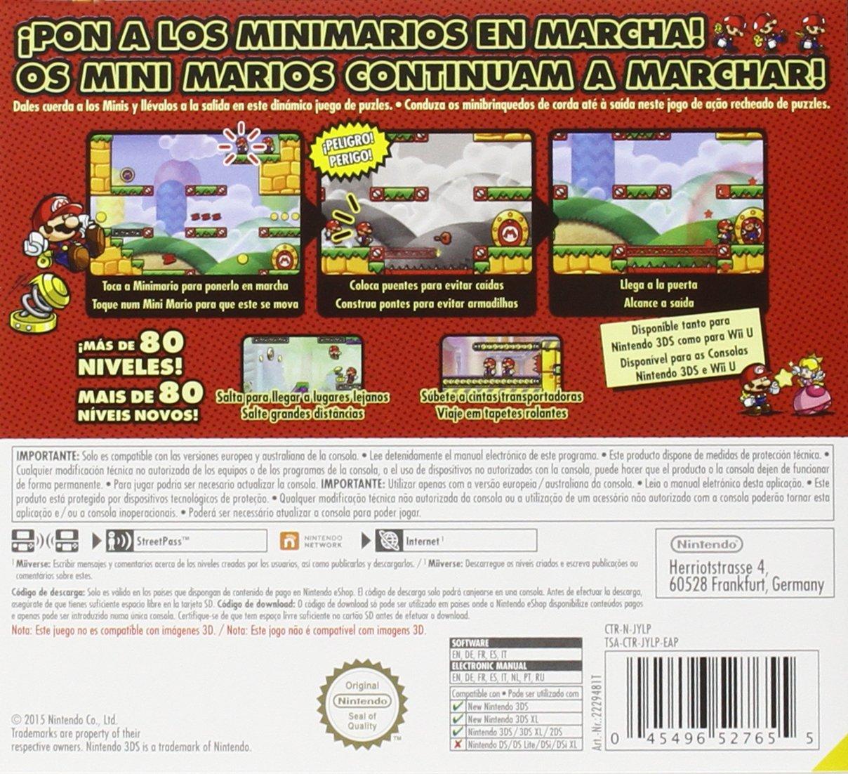 Mario vs. Donkey Kong: Tipping Stars: nintendo 3ds: Amazon.es ...