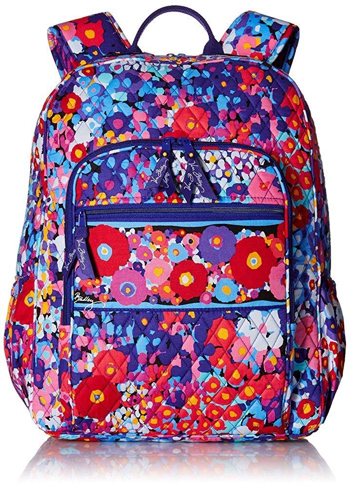 Vera Bradley Campus Backpack (Impressionista)