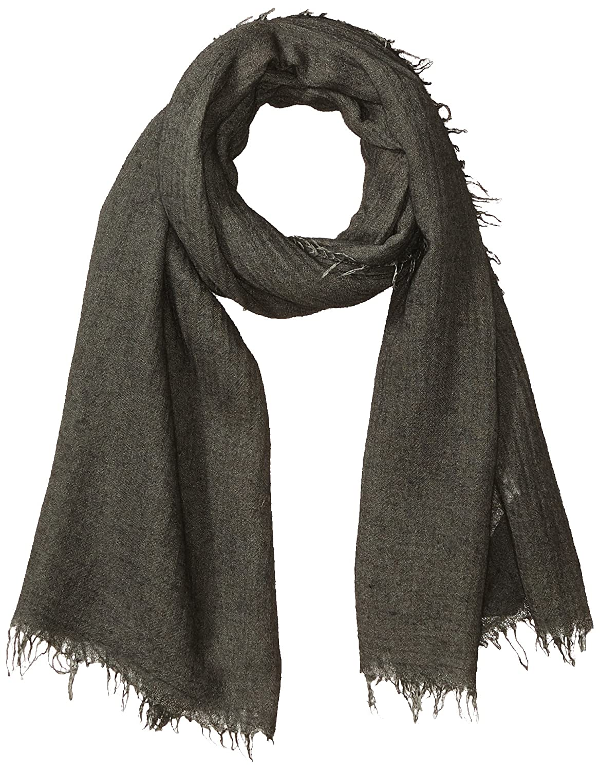 Armani Exchange Men's Viscose and Cashmere Fabric Scarf Black ONE Size 9341007A706
