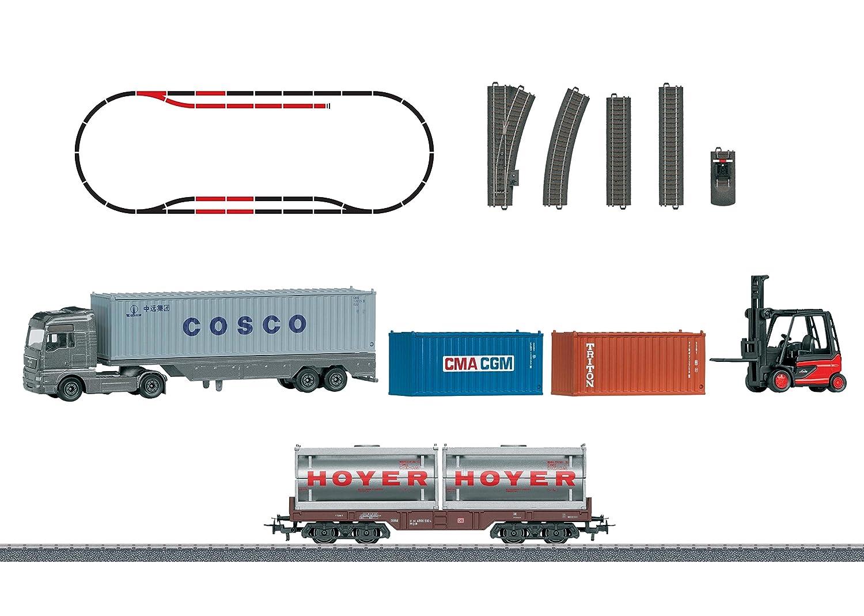Märklin 78452 - Themen-Ergänzungspackung Containerlogistik, Fahrzeuge Bild