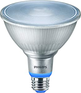 Philips LED 555300 PAR38 Plant Grow Light Bulb: 1325-Lumen, 5000-Kelvin, 15.5-Watt, E26 Medium Screw Base, 1-Pack, White, Title 20 Compliant