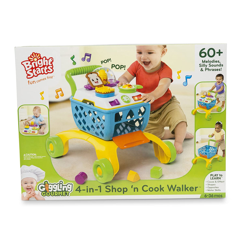 Bright Starts Trotteur 4en1 Shop /'n Cook