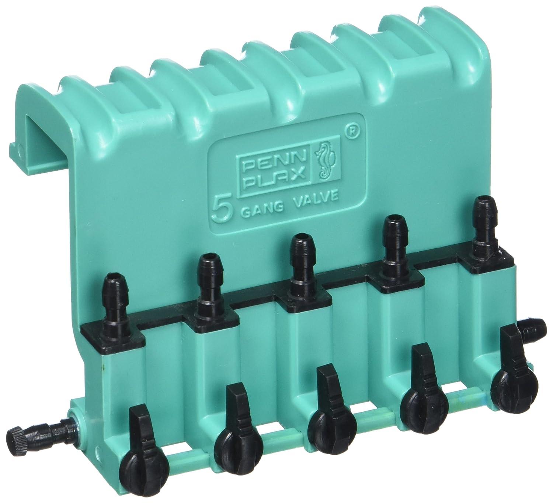 PENN PLAX Lok Tite Plastic 5-Way Air Control Gang Valve Aquarium Pump Accessories by Penn-Plax B0002564PI