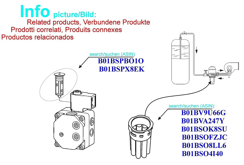 STEINEN /Öld/üse 0.6 USgal//h H Spr/ühmuster typ 80/° Spr/ühwinkel