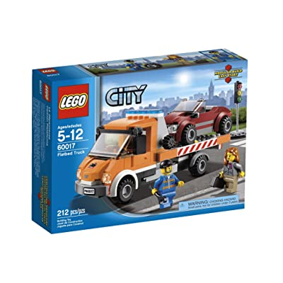 LEGO City Flatbed Truck 60017: Toys & Games