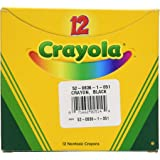Crayola Bulk Crayons (12 Count), Black