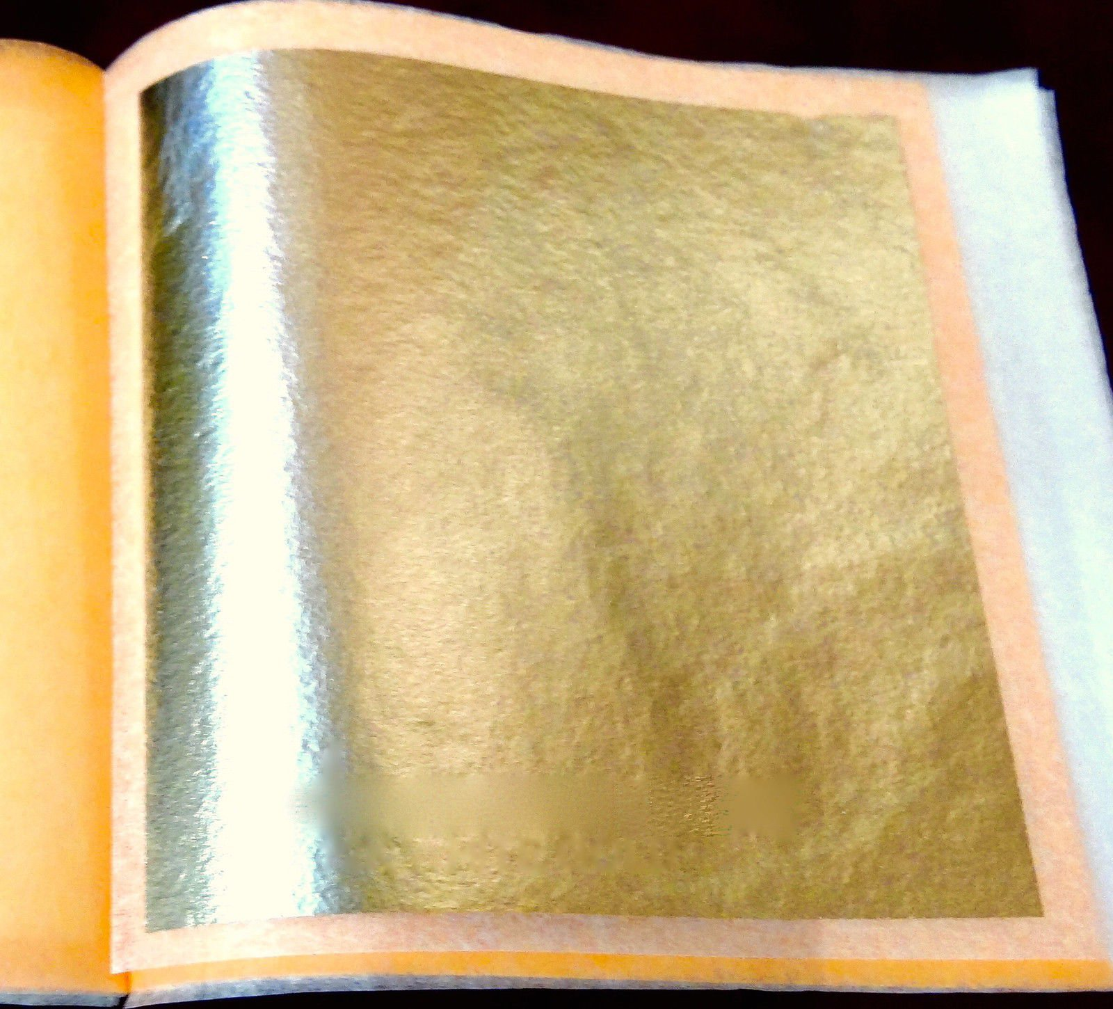 Genuine Gold Leaves (Loose) (21k, 4 booklets (100 sheets))