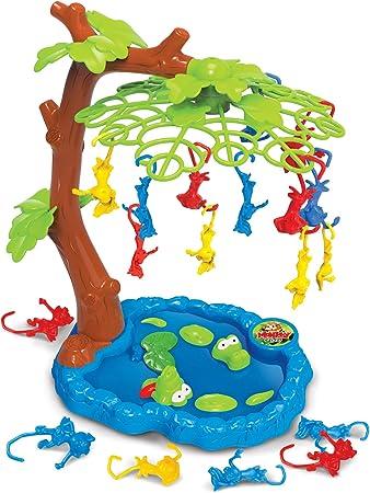 Mono loco Juego de equilibrio Monkeying Around Un juego equilibrado con monos colgando de un árbol Juego de habilidad de mono: Amazon.es: Juguetes y juegos