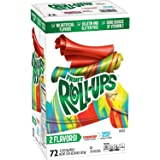 Betty Croker Strawberry and Tropical Tie Dye Fruit Roll Ups, 72 Count, 36 Ounce