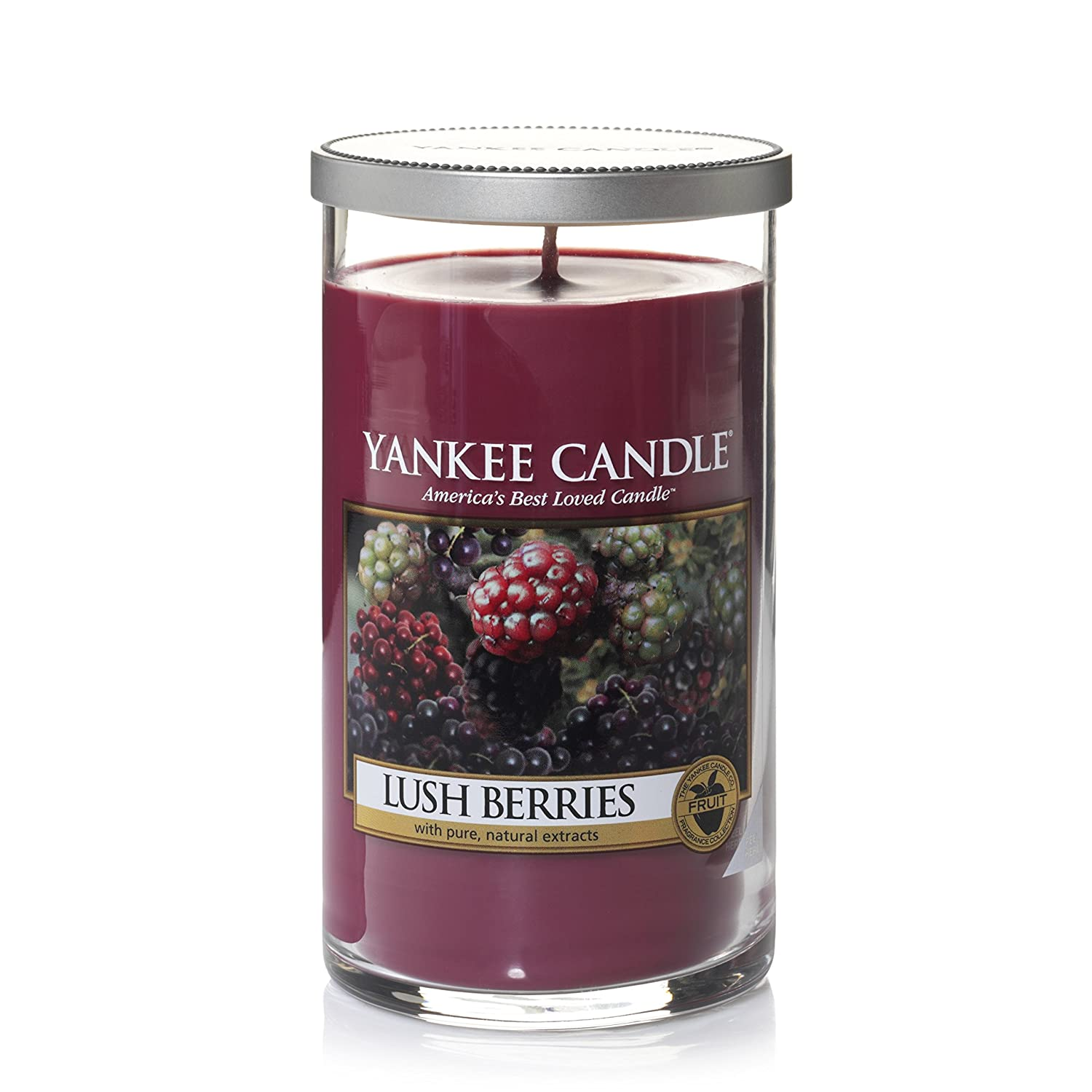 Yankee Candle Medium Perfect Pillar™ Candle , Lush Berries The Yankee Candle Company 1342520z