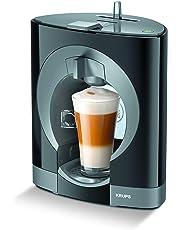 Krups Oblo KP1108 - Cafetera Nestlé Dolce Gusto de 15 bares de presión y 1500 W de potencia con depósito de 0,8 L, color negro