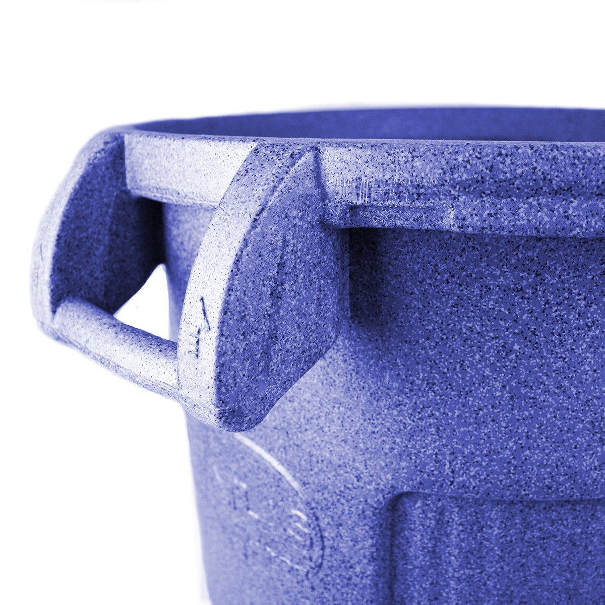 UltraSource Commercial Atlas Waste Container, 32 gal, Blue by UltraSource (Image #3)