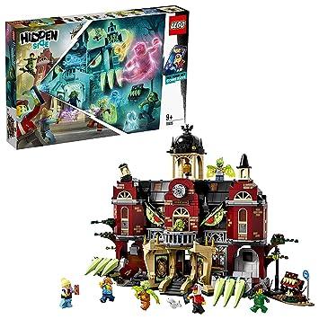 Construction Interactif70425Multicolore Lego L'école Newbury Hantée De Hidden Jeu Side D2E9IWHbYe