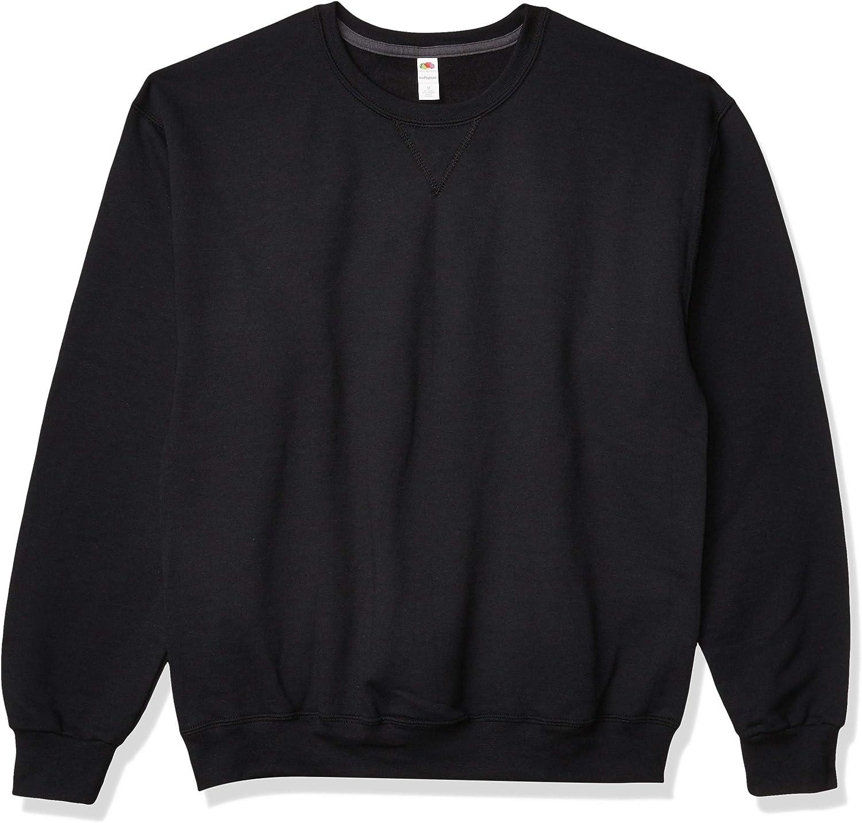 Fruit of the Loom Men's Sofspun Fleece Sweatshirts & Hoodies