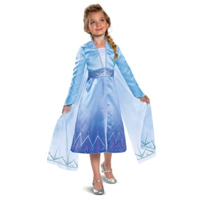 Disguise Disney Elsa Frozen 2 Prestige Girls' Halloween Costume: Toys & Games