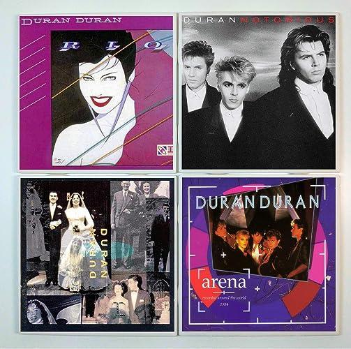 Amazon com: Duran Duran Coasters - set of 4 tile coasters
