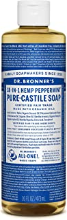product image for Dr. Bronner's Magic Soaps 18-in-1 Hemp Pure Castile Soaps Peppermint 16 fl. oz.