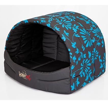hobbydog Front nik4 Souffleur para perros Gato Cueva Perros Gato cama Perros Casa Dormir Espacio para