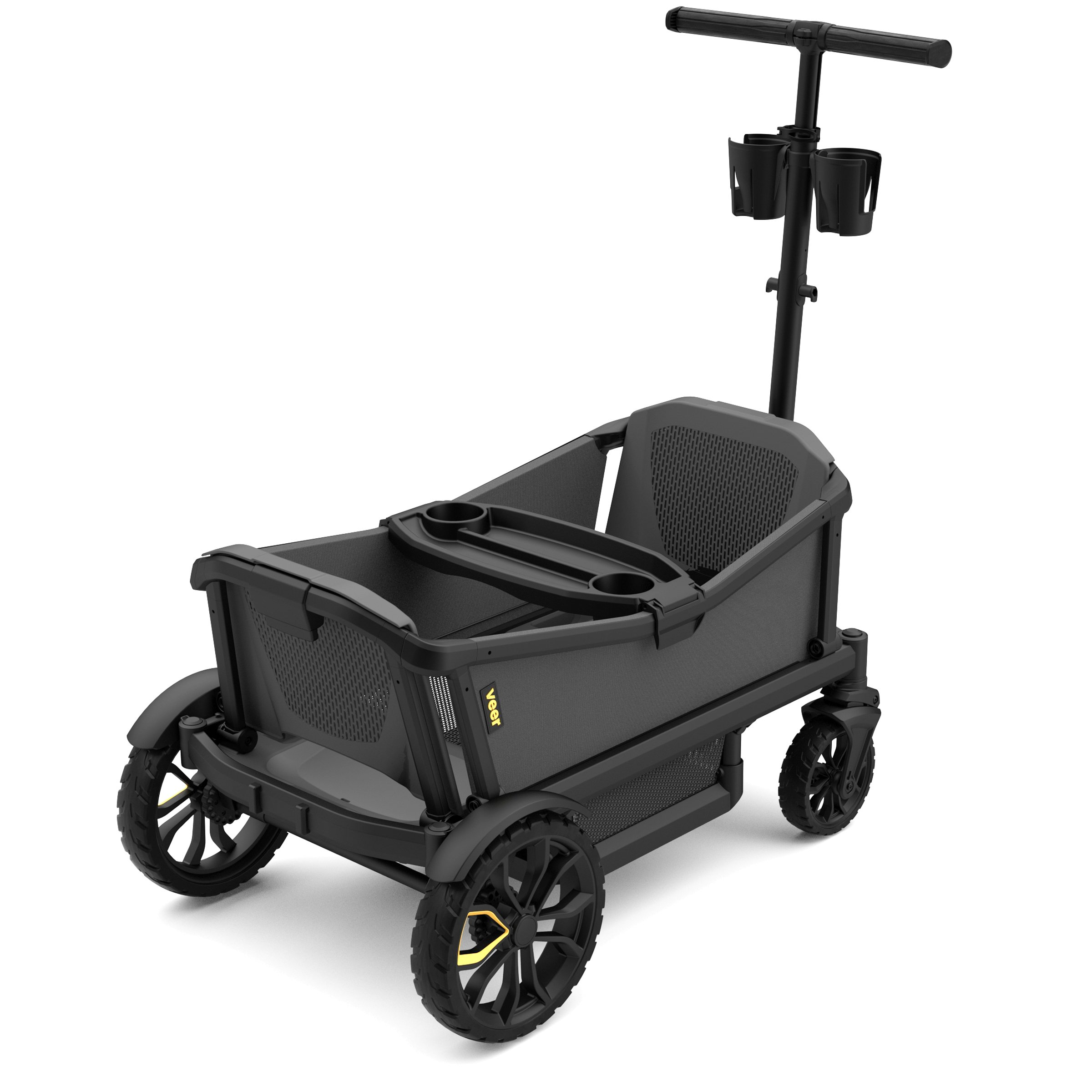Veer Cruiser with Retractable Canopy | Next Generation Premium Stroller Wagon Hybrid by Veer (Image #5)