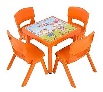 Amazon De Dajar Gartenmobel Sets Kinderstuhl Jumbo Orange 1 Stuck