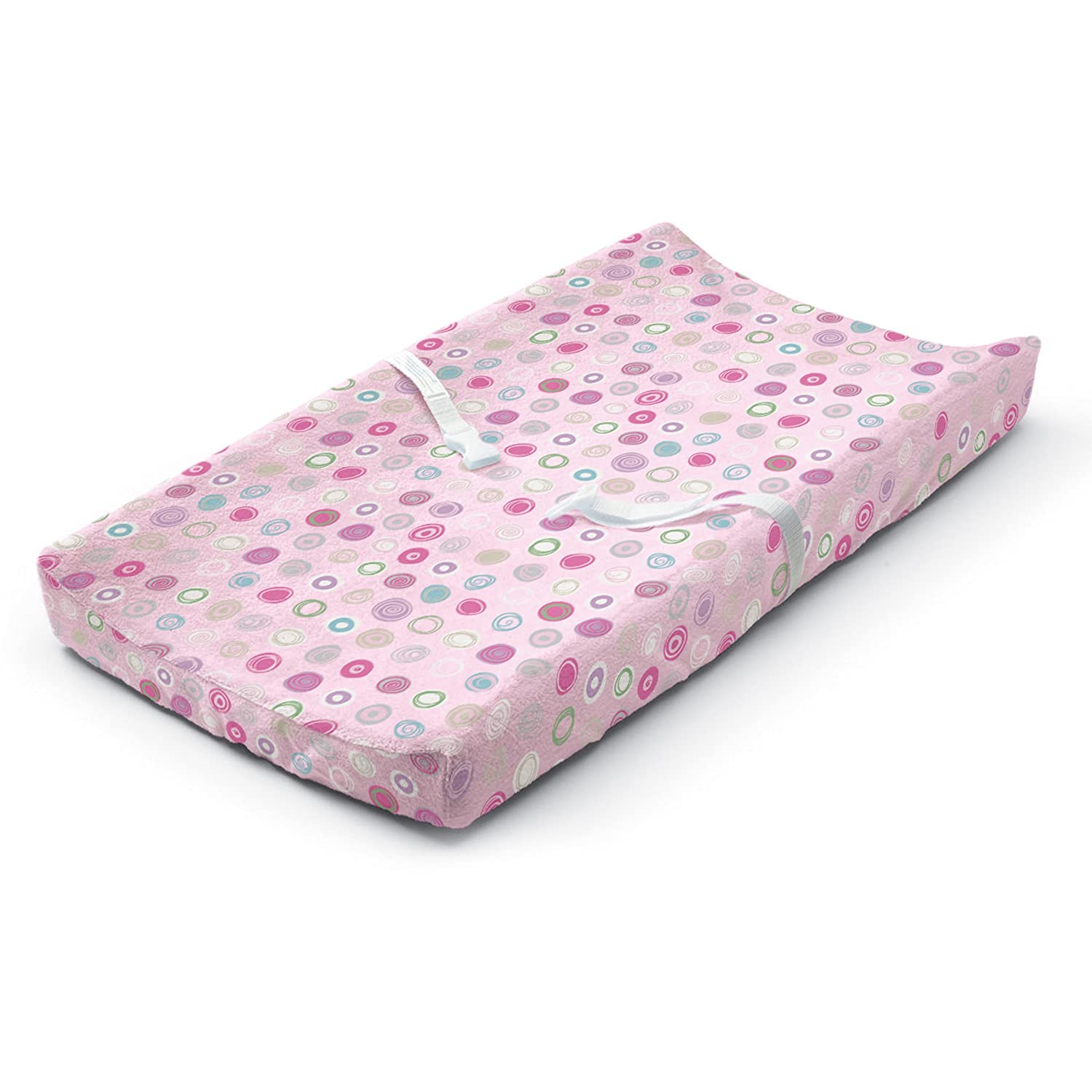 Summer Infant Ultra Plush Changing Pad Cover Pink Swirl Inc. 92690